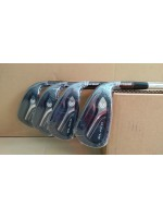 BRAND NEW Cleveland CG Black 2015 Steel Iron Set Regular