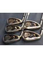 XXIO 2016 Model 5S Steel Iron Set Stiff - LEFT HANDED