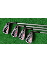 Callaway Razr X Black 6S Graphite Golf Iron Set Stiff Regular