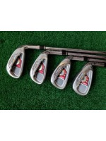 TaylorMade Burner XD Ti 6S Steel Iron Set Regular